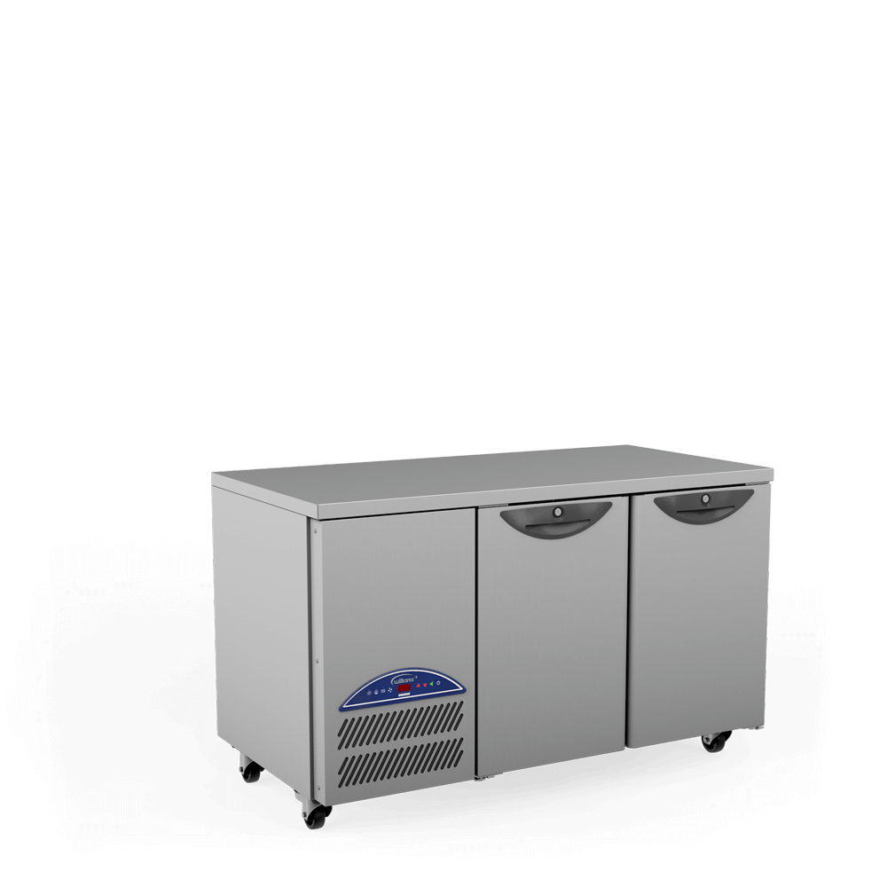 Opal Two Door Refrigerated Counter - Side On.