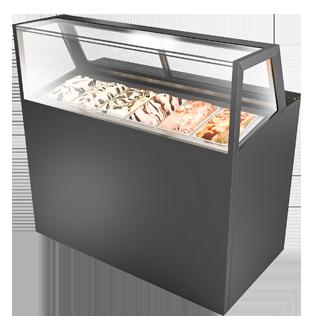 冰激凌展示柜 IC-U-1200-HG