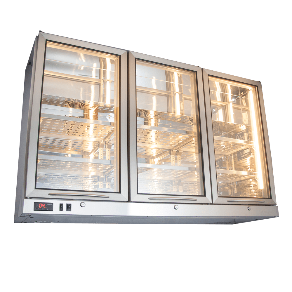 Wall-mounted Bottle Cooler 3 Doors BCWM3