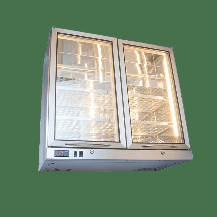 Wall-mounted Bottle Cooler 2 Doors BCWM2