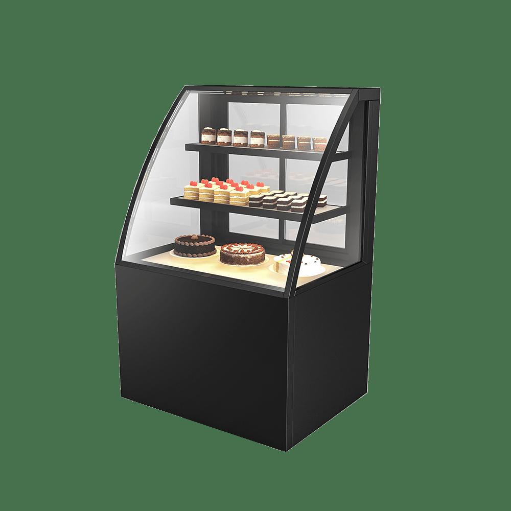 Curved Cake Display Showcase CAKE-U-900-HG-C