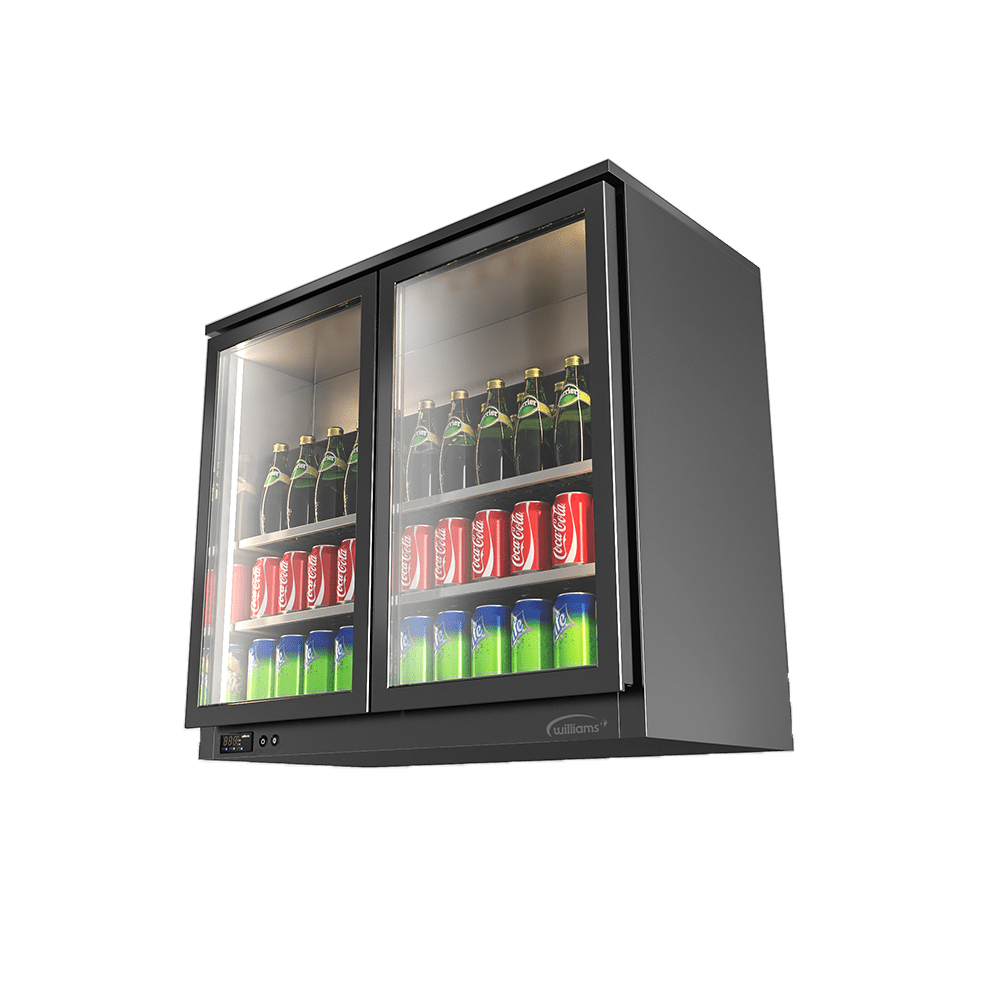 Wall-Mounted Deluxe Beverage Cooler DBW-2