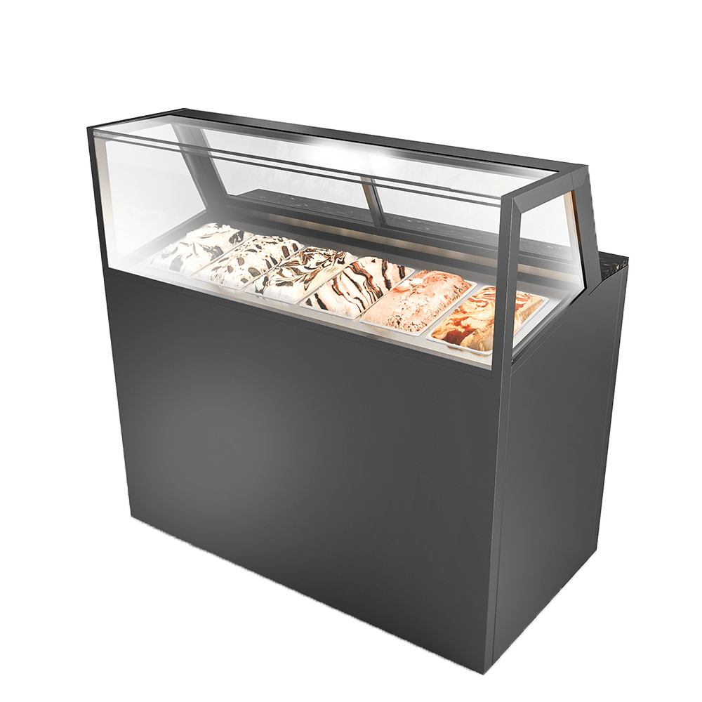 Ice-cream Display Showcase IC-U-1200-HG