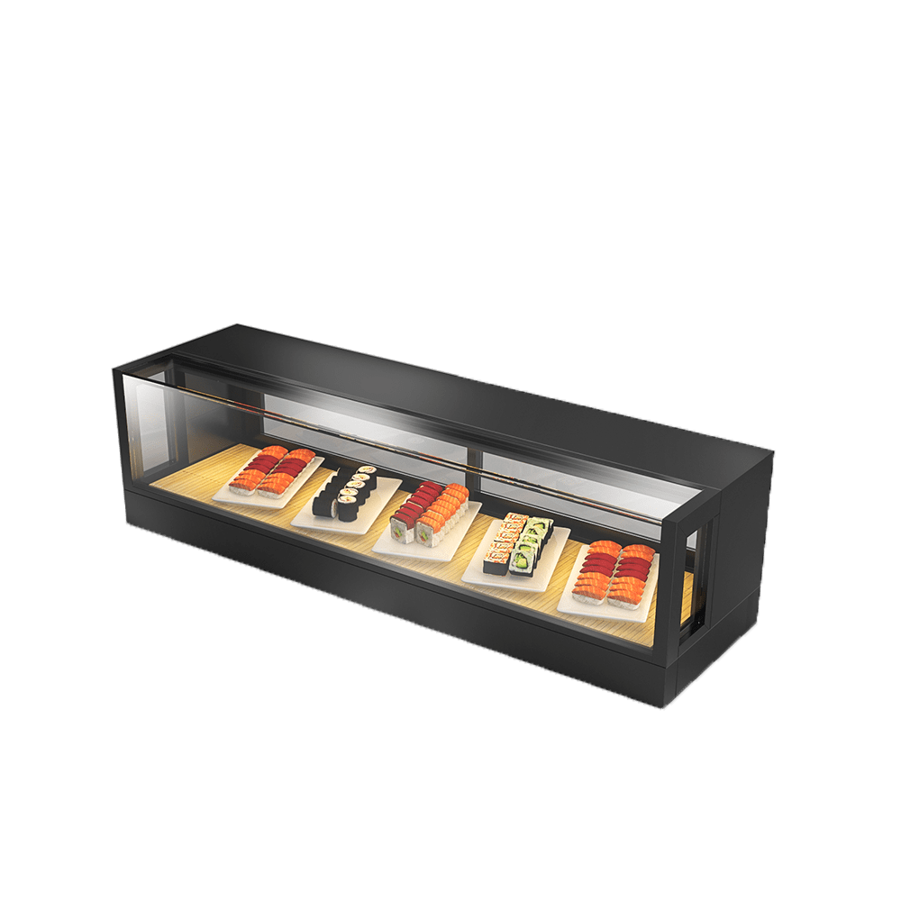 Sushi Display Showcase SUS-R-1200