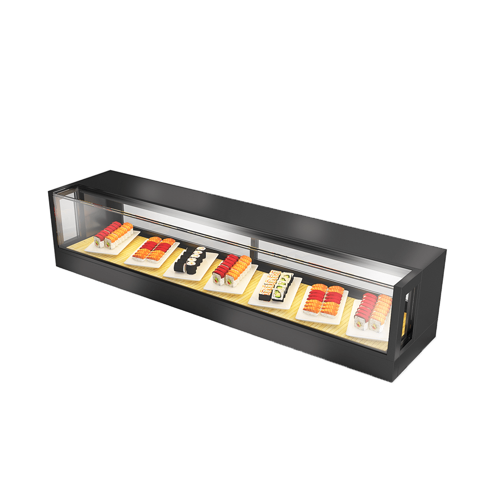 Sushi Display Showcase SUS-R-1500