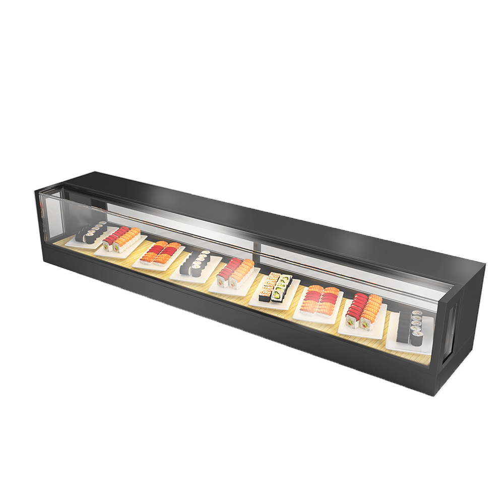 Sushi Display Showcase SUS-R-1800