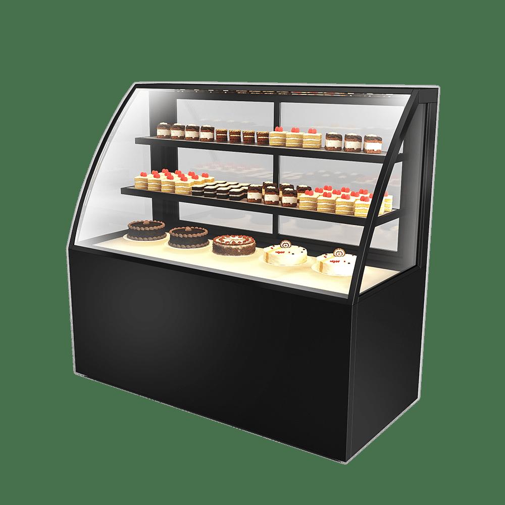 弧形蛋糕展示柜 CAKE-U-1500-HG-C