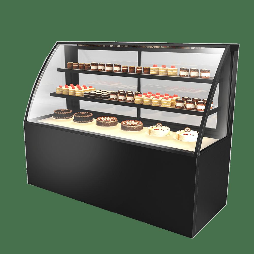 弧形蛋糕展示柜 CAKE-U-1800-HG-C