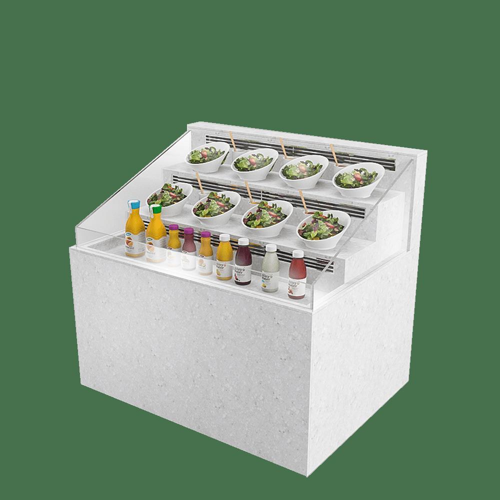 梯级型展示柜 SD-U-1200