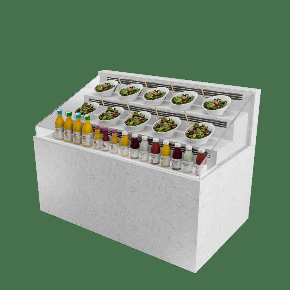 梯级型展示柜 SD-U-1500