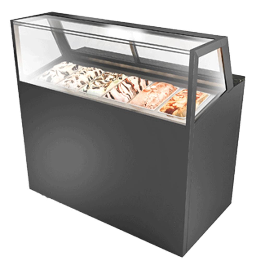 Ice-cream Display Showcase IC-U-1200-HG