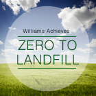 Williams Achieves Zero to Landfill.