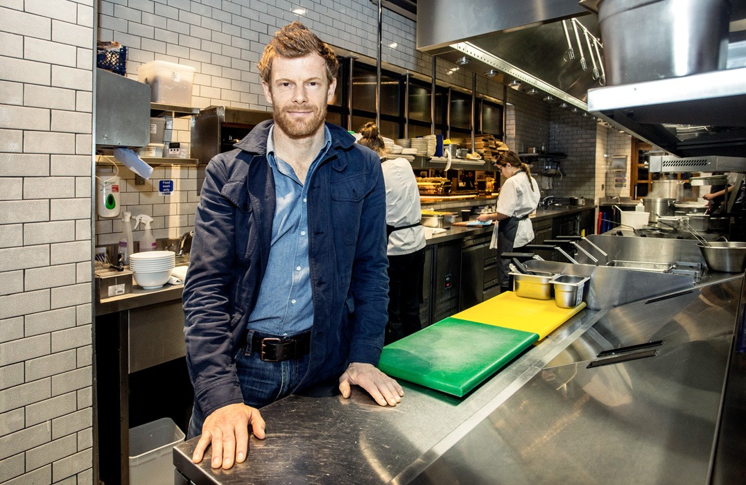 Tom Aikens at Tom's Kitchen