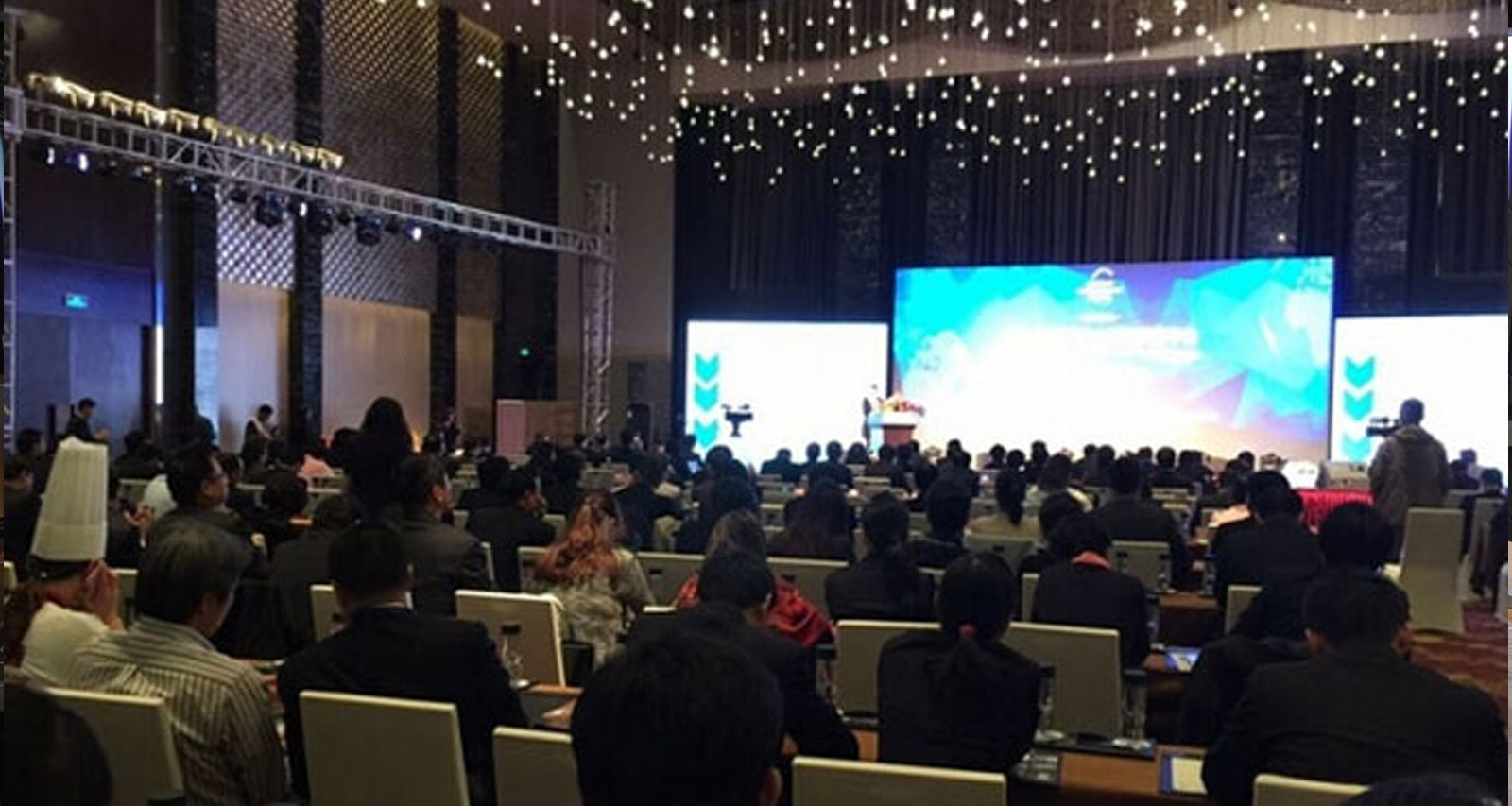 China hospitality show.