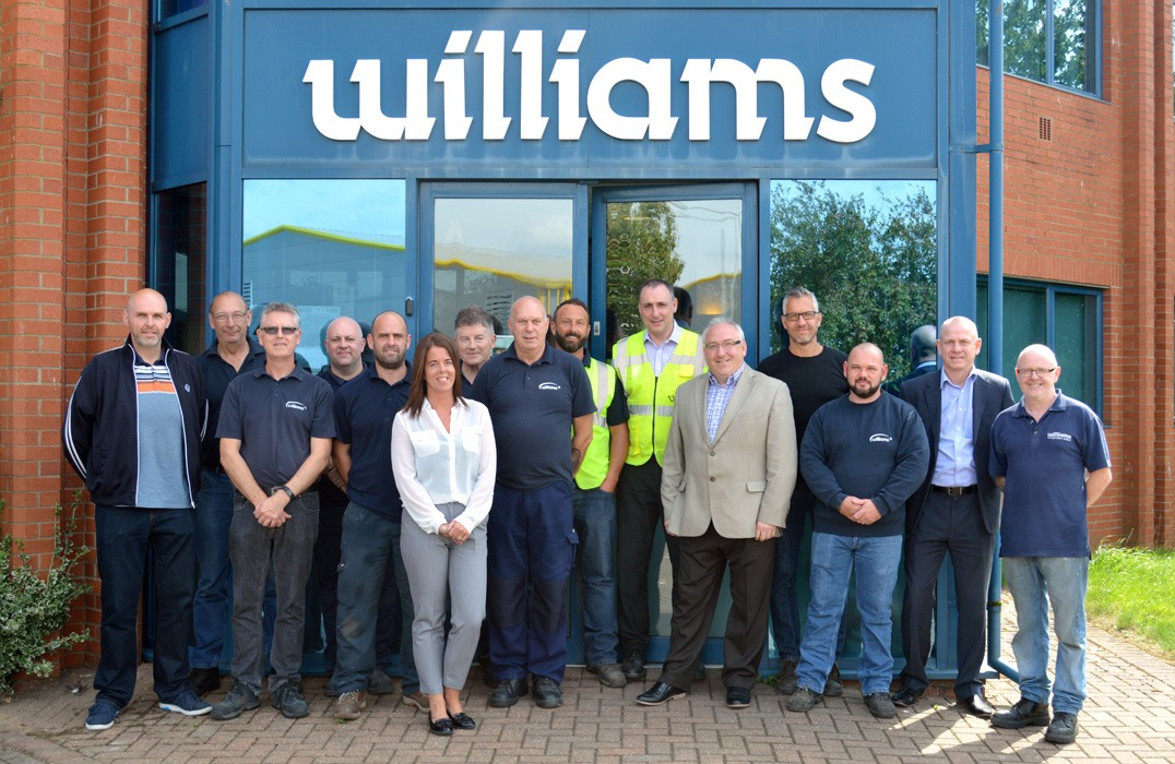 Williams Employees Celebrate Long Service Awards.