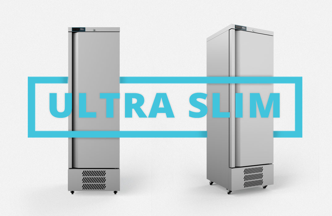 Jade Ultra Slim Freezer Cabinet.